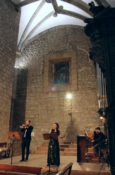 Trio Opus Lírica en el XXIX. Ciclo Barroko Aire, Ordizia.
