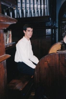 Concierto de órgano en la III Semana Musical Aita Donostia, 2000