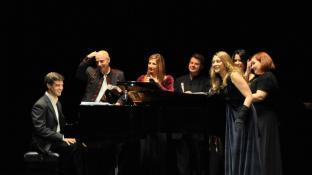 Recital de canto con los alumnos de Edelmiro Arnaltes en Alcalá de Henares, 2011