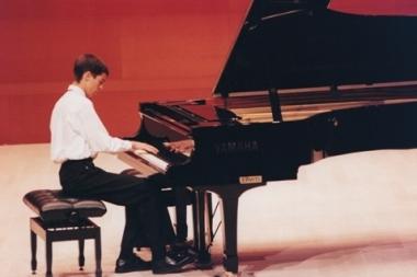 Recital de piano en la inauguración del Auditorio Kursaal de San Sebastián, 1999