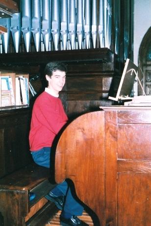 Concierto de órgano en la I Semana Musical Aita Donostia de San Sebastián, 1998