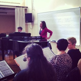 "Pianista repertorista de la ópera ""L'Elisir d'Amore"" de G. Donizetti con Opus Lirica, 2014"