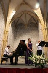 Con el Trio Easo en el Ciclo de Música de Deba, 2013